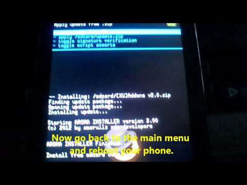 comment installer un theme sur xperia u