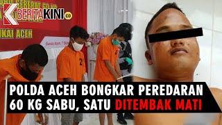 [VIDEO] Polda Aceh Bongkar Peredaran 60 Kg Sabu, Satu Ditembak Mati