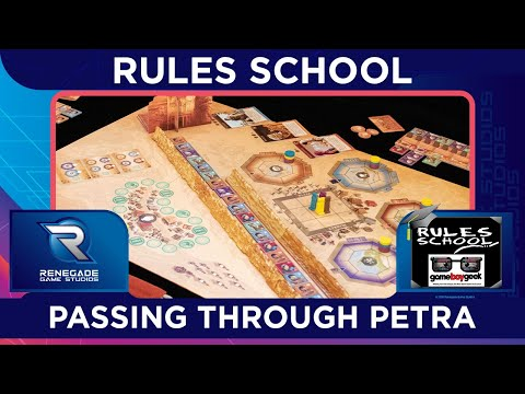How to Play Passing Through Petra (Rules School) with the Game Boy Geek