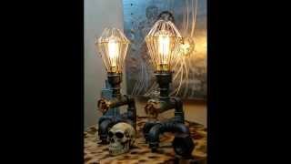 Англия. Наш семейный бизнес. Steampunk Industrial Lamps
