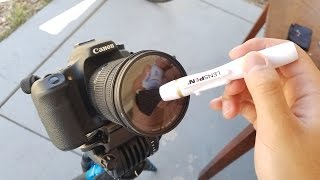 BEST WAY TO CLEAN YOUR CAMERA!!! - LensPen DSLR Pro Cleaning Kit Review