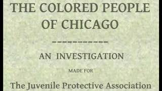 The Colored People of Chicago ♦ By Louise DeKoven Bowen ♦ Political - Social Science ♦ Audiobook