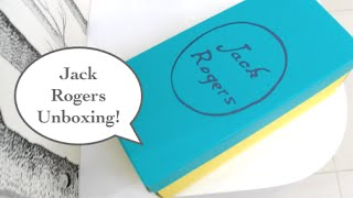 Jack Rogers Unboxing