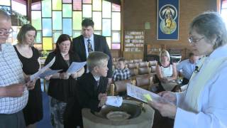preview picture of video 'St Gables  Christening  9-9-12'