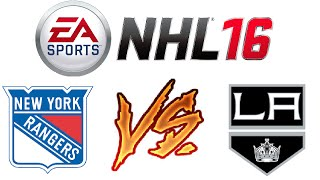 NHL 16 - Ranked Online Versus #5 - Rage Quitter and a Noob?! - Video Youtube