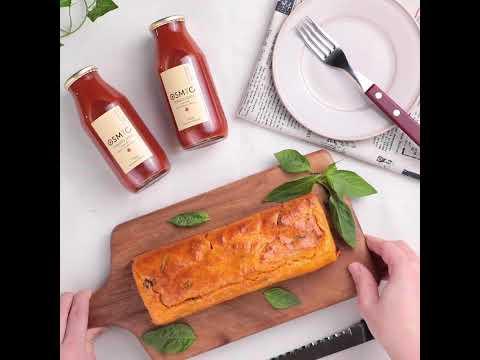 OSMICトマトジュースでお手軽に作れる!「簡単♪トマトケークサレ」