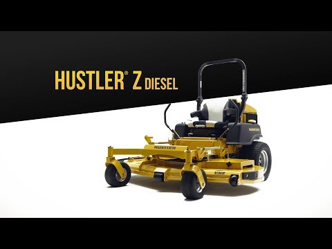 2019 Hustler Turf Equipment Hustler Z Diesel 60 in. Shibaura Zero Turn Mower in Russell, Kansas - Video 1