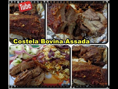 Costela bovina assada