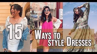 15 Different Dresses And Styles | Wardrobe Basics | How To Style | That Boho Girl