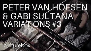 Peter Van Hoesen and Gabi Sultana with John Cage - Live @ Culturebox 2018