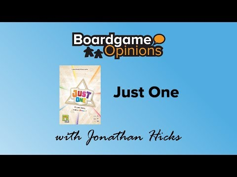 Boardgame Opinions: Just One