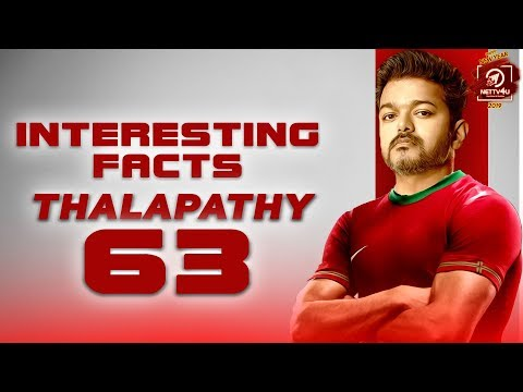 Thalapathy 63 Interesting Facts | T..