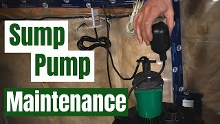 Sump pump maintenance: How to test and know its working