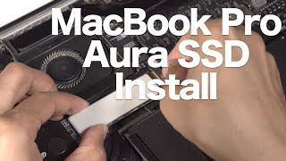 OWC Aura 480GB SSD Upgrade Kit Install - Mid 2013 - Early 2015 MacBook Air/Pro