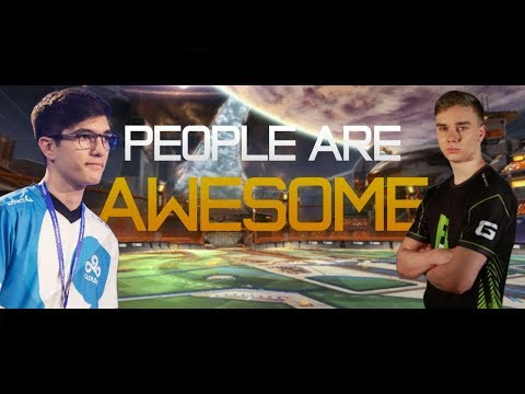 PEOPLE ARE AWESOME (Rocket League Edition) | Best Goals, Saves, Aerials, Teamplays, Dribbles & MORE!