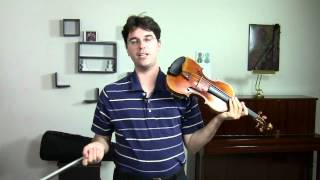 Violin Tone Production - How do I make the best sound on the Violin?