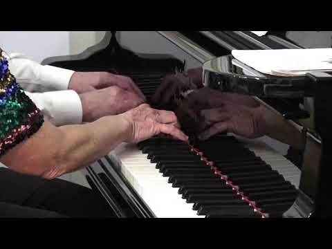 Maurice Ravel - <em>Ma mère l'Oye</em>pour piano à 4 mains<br /> Marie-Nathalie et Michel Schmitt piano<br /> RecitHall, captation : Morgane Danan