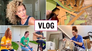 OUR BASEMENT FLOODED | VLOG | THE GLAM BELLE