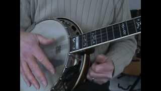Pete Seeger style banjo. (tutorial)