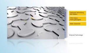 Perfekt im System:  ARDEX und Gutjahr - IndorTec FLEXBONE