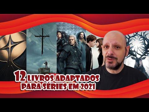 12 Séries adaptações de livros para 2021