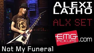 """Alexi Laiho performs """"Not My Funeral"""" for EMGtv"""
