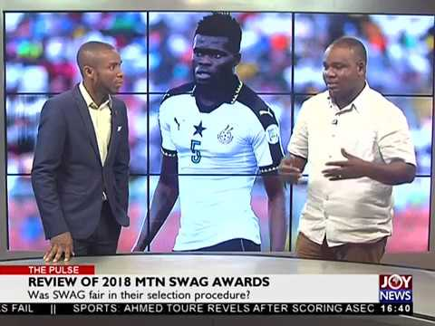Review of 2018 MTN Swag Awards - The Pulse Sports on JoyNews (8-5-18)