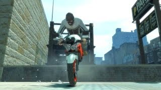 GTA 4 - AMAZING Bike Stunts 5
