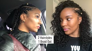Flat Braid Out On Transitioning Hair Free Online Videos Best