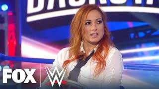 Becky Lynch becoming 'The Man', feuding with Asuka, more   WWE BACKSTAGE   WWE ON FOX