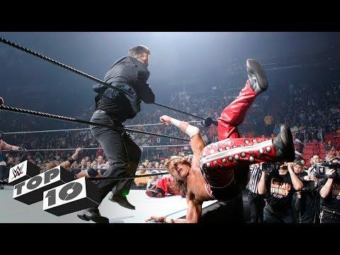 Infamous Royal Rumble Match intruders: WWE Top 10, Jan. 20, 2018 (видео)