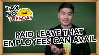 Paid Leave that Employees can Avail