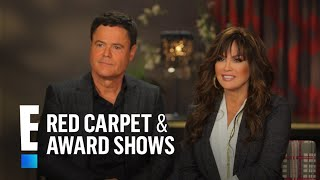 Donny & Marie Osmond Talk 10 Years Together in Vegas | E! Red Carpet & Award Shows