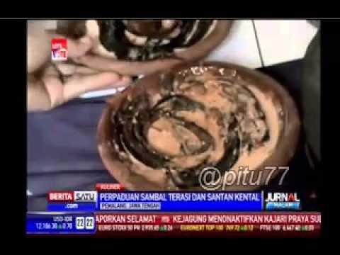 Video Pecak belut santan kuliner khas pemalang jawa tengah