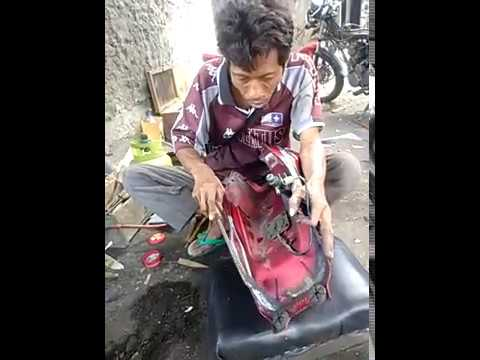 Video Cara patri tanki motor honda