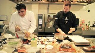 Master class on tapas with Torre de Núñez by chef Alejandro Iglesias
