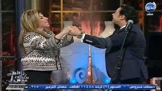 #آنالأوان : هالة سرحان ترقص على انغام تلات سلامات مع مدحت صالح