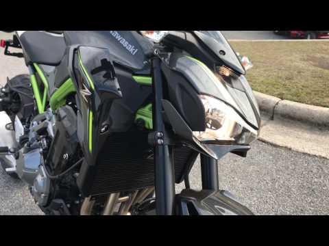 2017 Kawasaki Z900 in Greenville, North Carolina