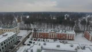 Город Пушкин зимой