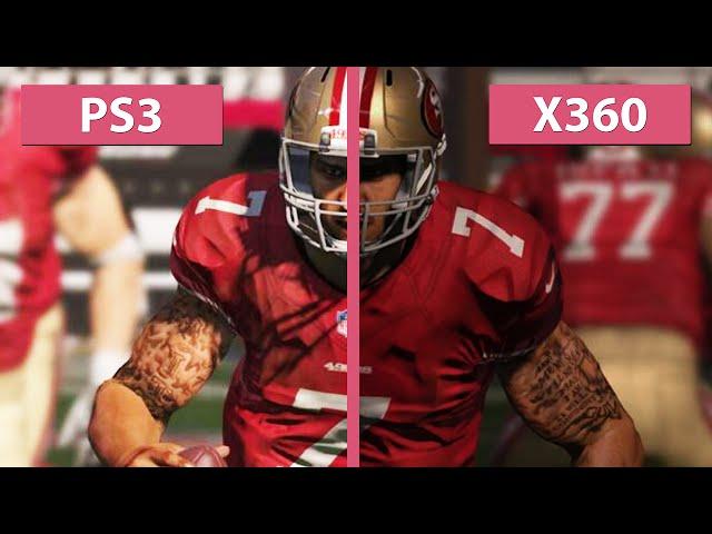 Madden Nfl 15 Ps3 Vs Xbox 360 Graphics Compariso ...
