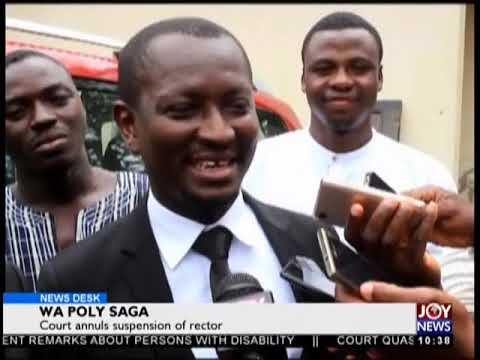Wa Poly Saga - News Desk on JoyNews (29-8-18)