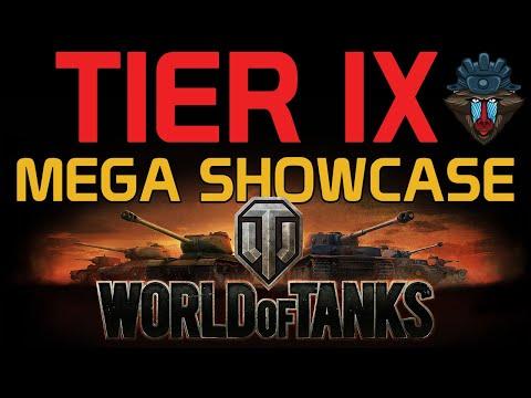 Tier IX Mega Showcase