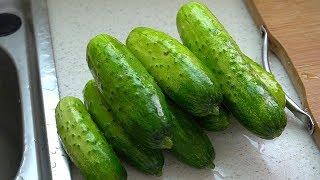 黄瓜新吃法,农村媳妇教你这样秘制,好吃又下饭,一年也不会坏