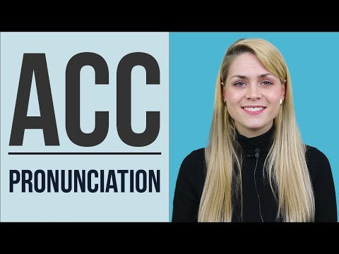 Words Beginning with ACC | Learn English Pronunciation