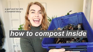 COMPOSTING GUIDE // how to compost in an apartment