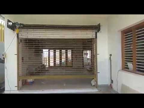 Automatic Grill Rolling Shutter