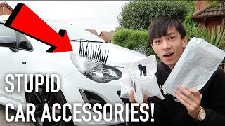 BUYING *WEIRD* CAR ACCESSORIES!?!