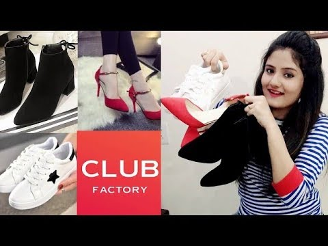 CLUB FACTORY || Casual Shoes, High Heels and Ankle Boots Haul and Review by Nikki's Passion