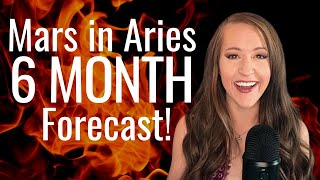 Mars In Aries Brings An EXPLOSIVE 6 Months Ahead! Extended Astrology Forecast For ALL 12 SIGNS!