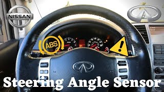 VDC and Slip Light On Infiniti QX56 | Steering Angle Sensor